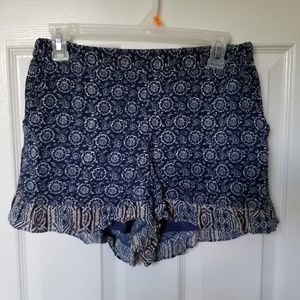 womens Freebird shorty shorts medium